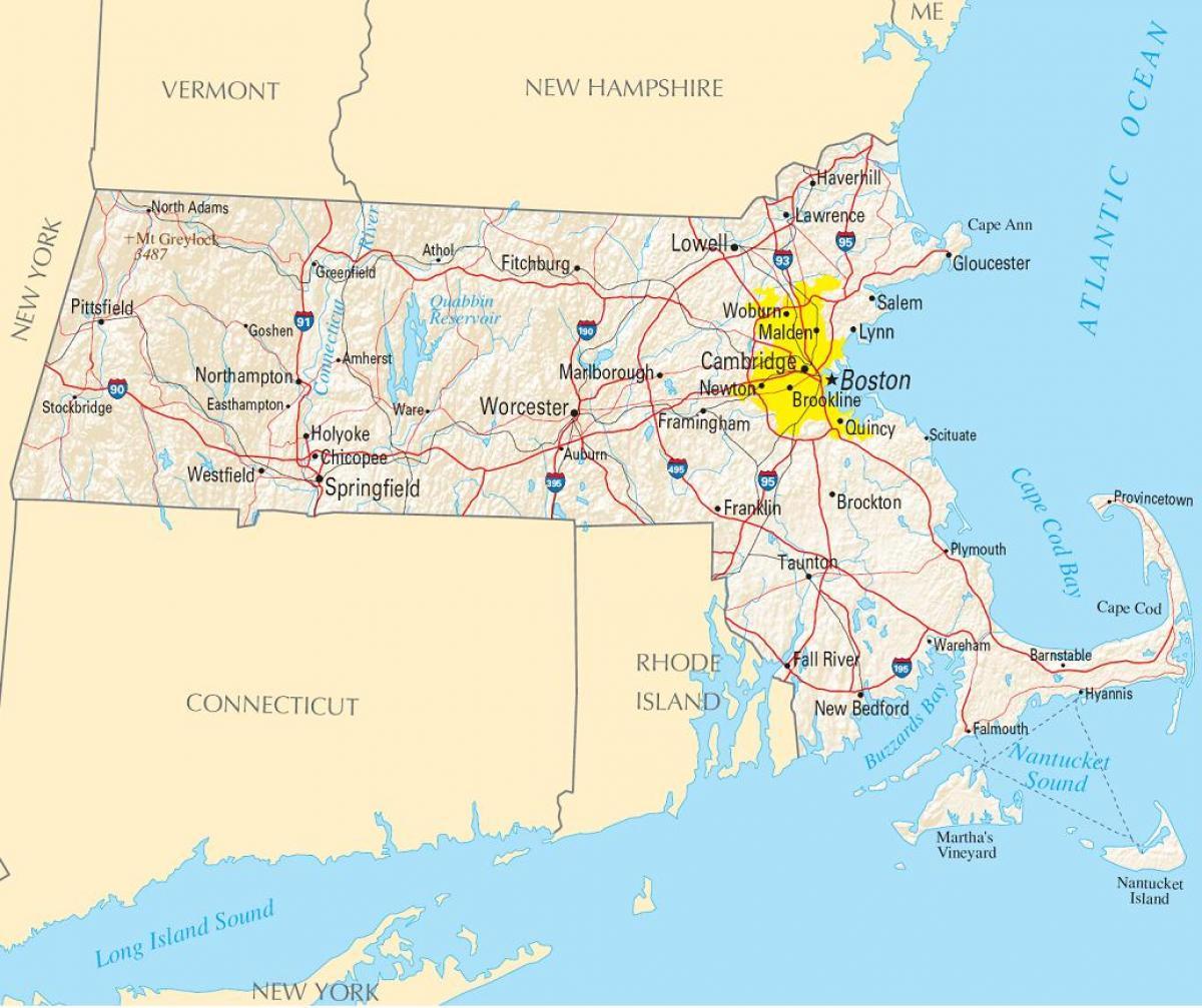 amerika térkép Boston amerika térkép   Térkép Boston, usa (Amerikai Egyesült Államok) amerika térkép