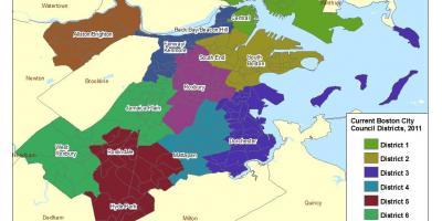 amerika térkép boston Boston térkép   Térkép Boston (Amerikai Egyesült Államok) amerika térkép boston